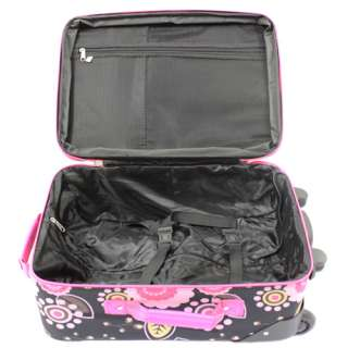 Rockland 2 Piece Upright Carry On & Tote Luggage Set   Pucci $80