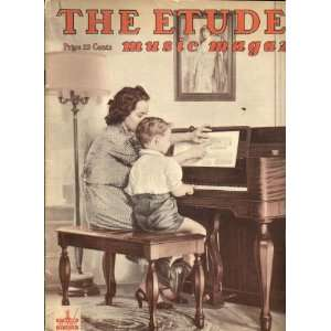 The Etude Music Magazine, September 1942 Books