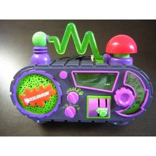 Nickelodeon Time Blaster AM/FM Alarm Clock Radio Explore