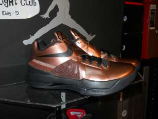 Nike Zoom KD IV 4 Christmas Coppers size 7 7.5 DS Nerf Chinas Sold out