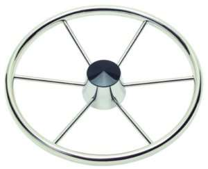 NEW Boat, Marine Schmitt Destroyer Steering Wheel 6 Spoke 3/4 Tapered