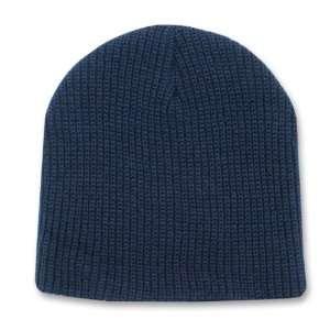 NAVY BLUE SHORT WATCH CAP BEANIE SKI CAP CAPS HAT HATS