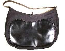 GUCCI EXTRA LARGE BLACK SLING BAG