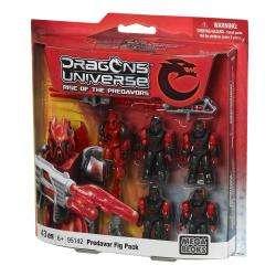 Mega Bloks Dragon Universe Predavor Figure Pack Play Set