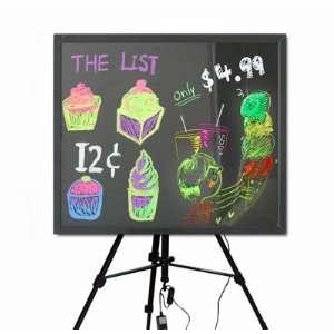 Display Writing Menu Board Bar Sign 6 Pack 27 X 23 Patio, Lawn