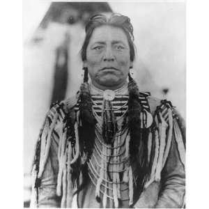 Guns White Calf,Blackfeet Indian Chief,North America,Native American