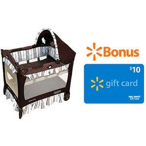 Graco   Travel Lite Crib, Berkley w/ Bonus $10 eGift Card