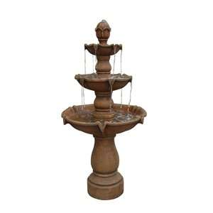 Kenroy Home Sherwood Outdoor Floor Fountain Garden Center