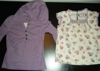 Lot Toddler Girl 4T Spring Summer Shirts Shorts Childrens Place EUC