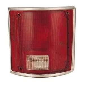 73 91 GMC JIMMY Right Tail Light (LENS & HOUSING W/ CHROME