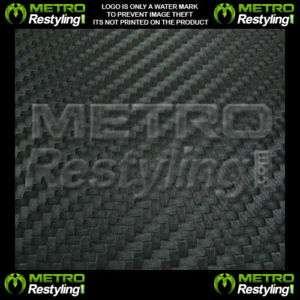 3D Flexible Carbon Fiber Vinyl Sheet Wrap Skin 12x48