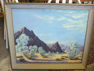 Landscape Painting Great Vivid Contast Colors Tulsa, Ok Label A Byman