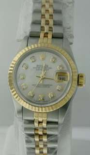 Rolex Datejust, Dia. Mother of Pearl Dial Ladies Watch.
