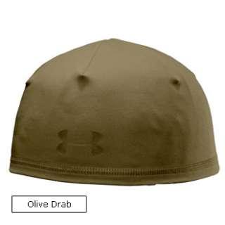 UNDER ARMOUR COLDGEAR TACTICAL BEANIE HAT 1219742 WARM MENS CAP BLACK