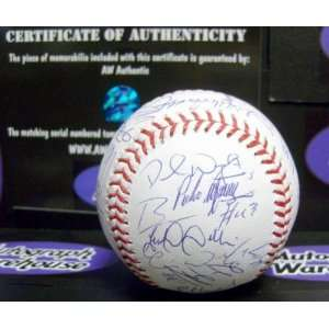 Mets team Autographed Major League Baseball (Steiner Hologram) Mike