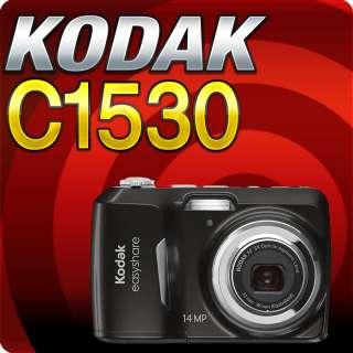 Kodak EASYSHARE C1530 Digital Camera (Black) 8921223 NEW 041778921227