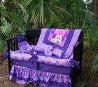 New custom baby Crib Bedding Set mw MINNIE MOUSE fabric