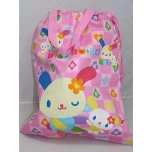 Pretty Sanrio U SA HA NA Bag with Drawstrings, 14H