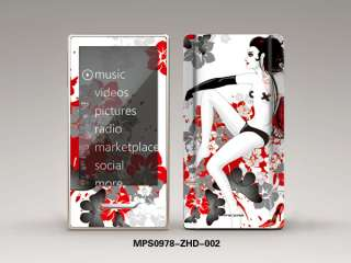 Protective Decal Sticker Skin Cover For ZUNE HD 32GB 16GB Case HOT