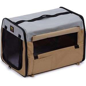Lightweight Collapsible Soft Folding Portable Pet Dog Crate Carrier