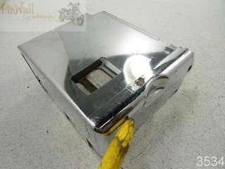 99 Suzuki Savage LS650 650 CHROME BATTERY BOX TRAY