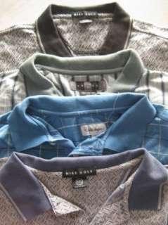mens LOT of 4 NIKE golf polo shirts XXL