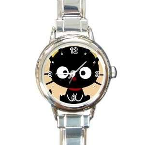 chococat black cat v2 Italian Charm Watch