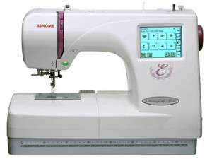 Janome Memory Craft 350E Embroidery Machine + Free Arm Hoop C, Card
