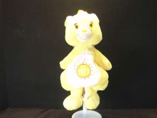 CARE BEARS BABY FUNSHINE SOFT PLUSH MUSICAL CRIB PULL TOY