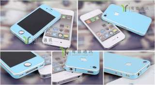Fashion Style Vinyl Full Body Bling Cover Wrap Skin Sticker For iPhone