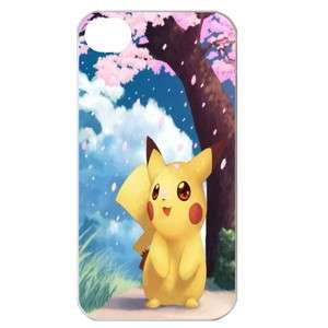 NEW Pokemon Pikachu 1 Image in iPhone 4 or 4S Hard Plastic Case Cover
