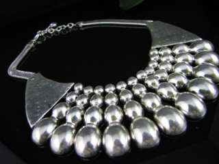 New In Fashion Cool Silver Tone Pendant Necklace Chains MS300