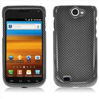 II 4G T679 T Mobile Carbon Fiber Image Hard Case Cover +Screen