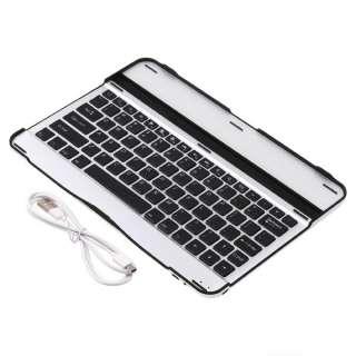 Aluminum Wireless Bluetooth Keyboard Case Stand 4 Samsung Galaxy Tab