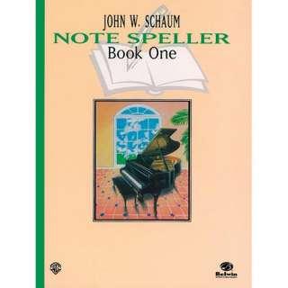 Note Speller, Bk 1, Schaum Art, Music & Photography