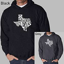 Los Angeles Pop Art Mens Dont Mess With Texas Hoodie