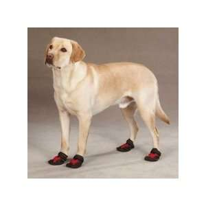 Casual Canine X Treme Weather Dog Boots in Red Size X
