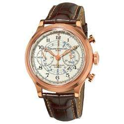 Baume & Mercier Mens Capeland Rose Gold Flyback Chronograph Watch