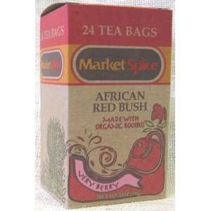 Very Berry African Red Bush Teabags (Rooibos):  Grocery