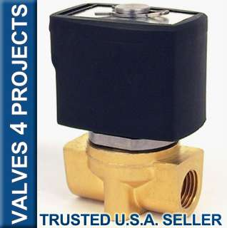 Electric Solenoid Valve Air Gas etc 24 V AC B20N