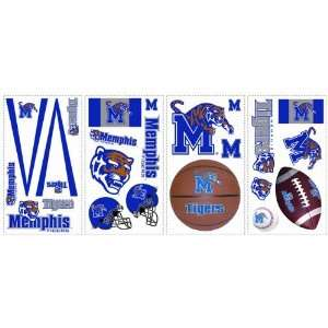 University of Memphis Tigers Kids Removable Wall Graphics