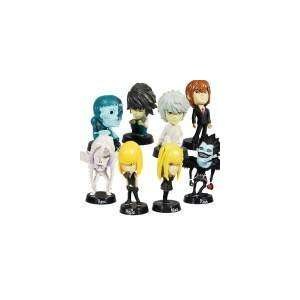 Anime Character Figures (8 Piece Set)