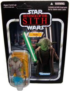 Star Wars Vintage Collection 2010 Yoda Figure ROTS Toy