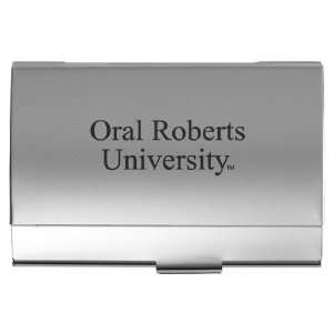 Oral Roberts University   Pocket Business Card Holder