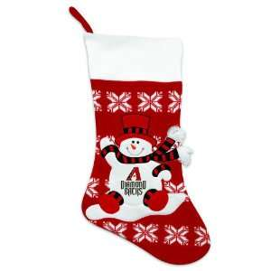 24 MLB Arizona Diamondbacks Knit Snowman & Snowflake