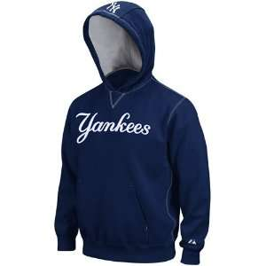Majestic New York Yankees Youth Navy Blue Golden Child Pullover Hoody