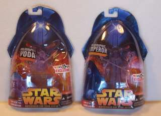 Emperor Palpatine Star Wars Revenge Sith Toys R Us 653569073253