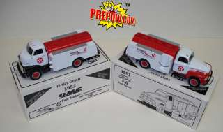 Texaco Cogeneration FirstGear Die cast Toy Truck Set