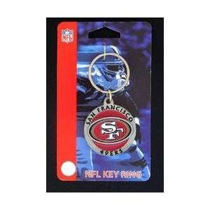 NFL Key Ring   San Francisco 49ers Logo: Sports & Outdoors