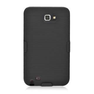 For Samsung GALAXY Note LTE/I717 Hard Case + Holster Belt Clip with